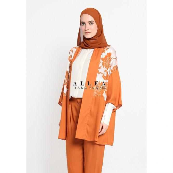 Allea Itang Yunasz Baju/Busana muslim Jelina Outer
