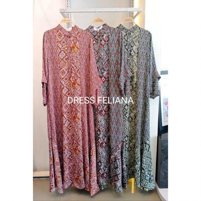Allea Itang Yunasz Baju/Busana muslim Feliana Dress