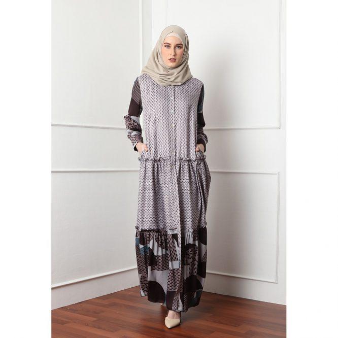 Allea Itang Yunasz Baju/Busana muslim Safah Maxy Dress